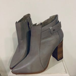 Steve Madden Klick Grey ankle boots